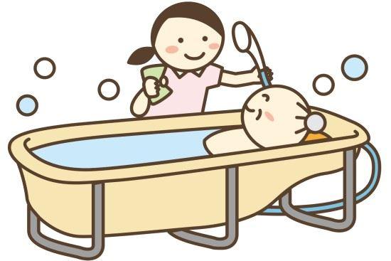 介護_入浴介助の画像