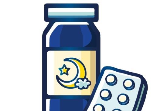 睡眠_睡眠薬の画像