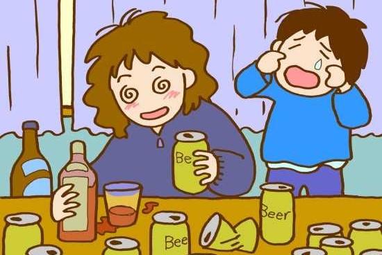 女性_アルコール依存症2の画像